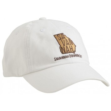 Savannah Bourbon Recipe Hat: White